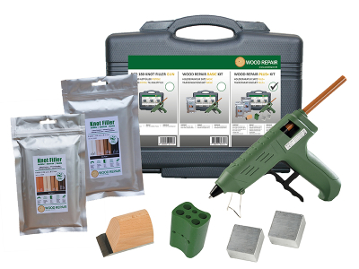 Wood Repair PLUS+ Kit